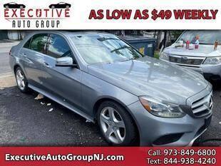 2014 Mercedes-Benz E-Class for sale at Executive Auto Group in Irvington NJ