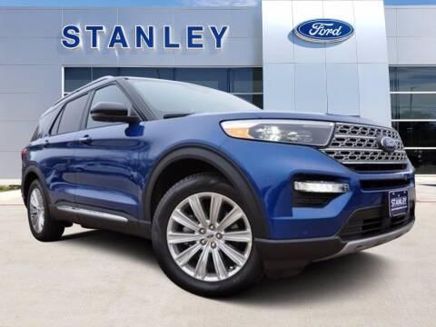 2020 Ford Explorer for sale at Stanley Ford Gilmer in Gilmer TX