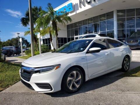 2019 Honda Insight for sale at Mazda of North Miami in Miami FL