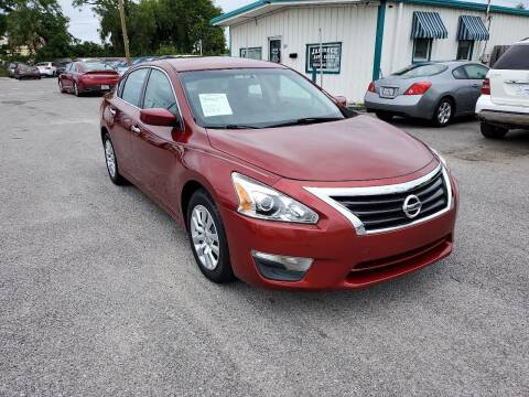 2013 Nissan Altima for sale at Jamrock Auto Sales of Panama City in Panama City FL