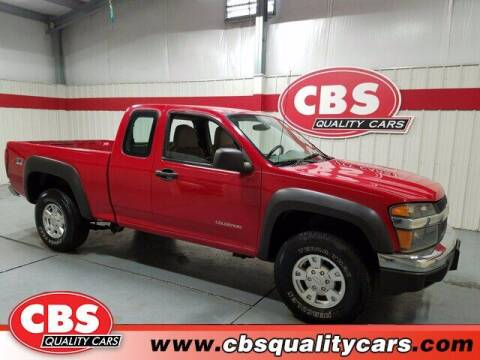 2005 Chevrolet Colorado for sale at CBS Quality Cars in Durham NC
