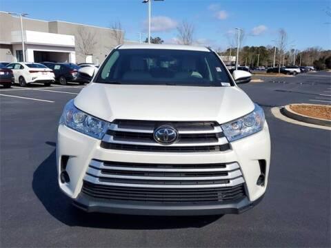 2017 Toyota Highlander for sale at Lou Sobh Kia in Cumming GA
