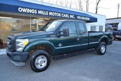 2011 Ford F-250 Super Duty for sale at Owings Mills Motor Cars in Owings Mills MD