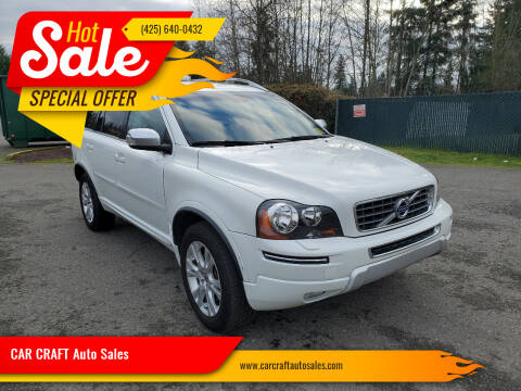 2013 Volvo XC90 for sale at Car Craft Auto Sales Inc in Lynnwood WA