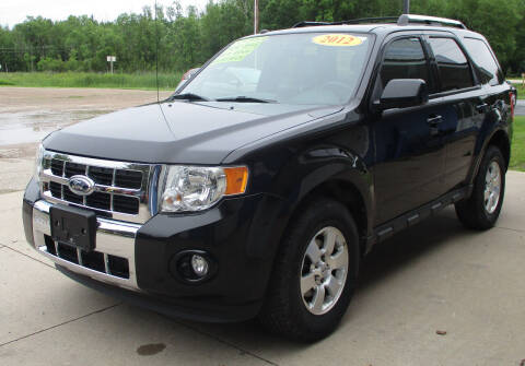 2012 Ford Escape for sale at LOT OF DEALS, LLC in Oconto Falls WI