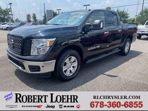 2019 Nissan Titan for sale at Robert Loehr Chrysler Dodge Jeep Ram in Cartersville GA