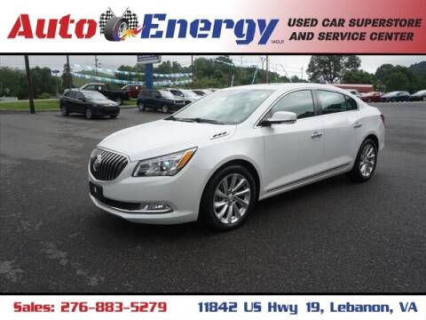 2016 Buick LaCrosse for sale at Auto Energy in Lebanon VA
