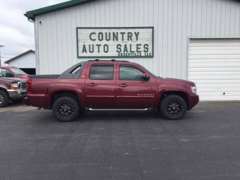 2009 Chevrolet Avalanche for sale at COUNTRY AUTO SALES LLC in Greenville OH