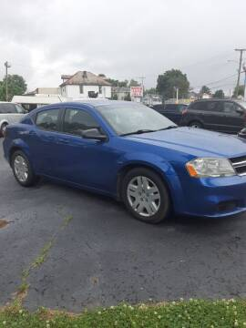 2012 Dodge Avenger for sale at Bates Auto & Truck Center in Zanesville OH