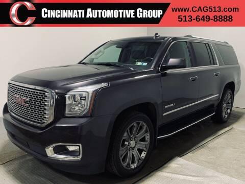 2015 GMC Yukon XL for sale at Cincinnati Automotive Group in Lebanon OH