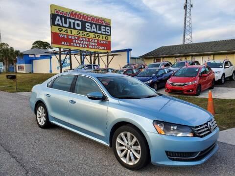 2012 Volkswagen Passat for sale at Mox Motors in Port Charlotte FL