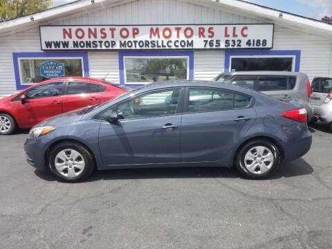 2016 Kia Forte for sale at Nonstop Motors in Indianapolis IN
