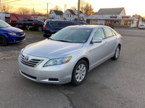 2008 Toyota Camry Hybrid for sale at ENFIELD STREET AUTO SALES in Enfield CT