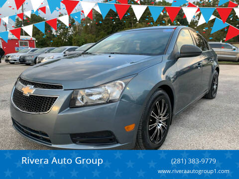2012 Chevrolet Cruze for sale at Rivera Auto Group in Spring TX