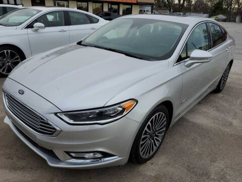 2018 Ford Fusion Hybrid for sale at THE TRAIN AUTO SALES & LEASING in Mauldin SC