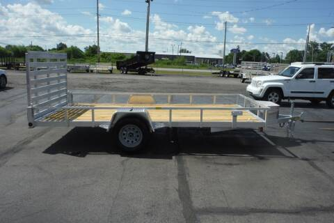 2021 Quality Steel 82 X 14 ALUMINUM for sale at Bryan Auto Depot in Bryan OH
