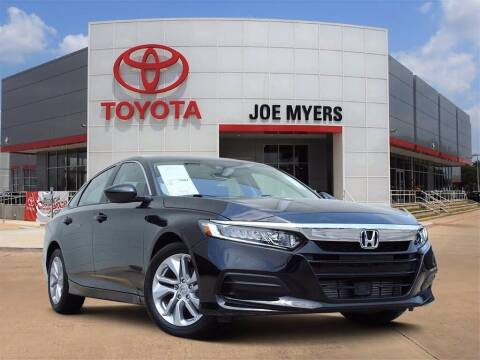 2020 Honda Accord for sale at Joe Myers Toyota PreOwned in Houston TX