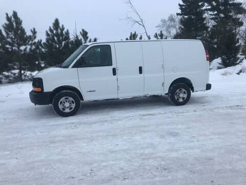 2004 Chevrolet Express Cargo for sale at BLAESER AUTO LLC in Chippewa Falls WI