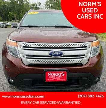 2015 Ford Explorer for sale at NORM'S USED CARS INC in Wiscasset ME