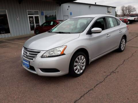 2014 Nissan Sentra for sale at Dakota Cars and Credit LLC in Sioux Falls SD