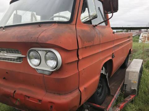 1961 Chevrolet Corvair for sale at CLASSIC MOTOR SPORTS in Winters TX