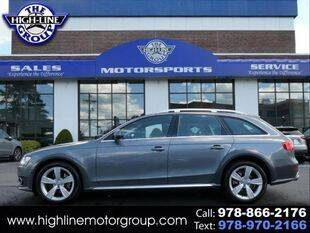 2013 Audi Allroad for sale at Highline Group Motorsports in Lowell MA