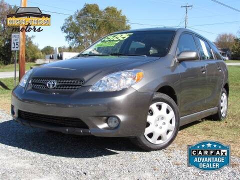 2007 Toyota Matrix for sale at High-Thom Motors in Thomasville NC