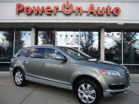 2007 Audi Q7 for sale at Power On Auto LLC in Monroe NC