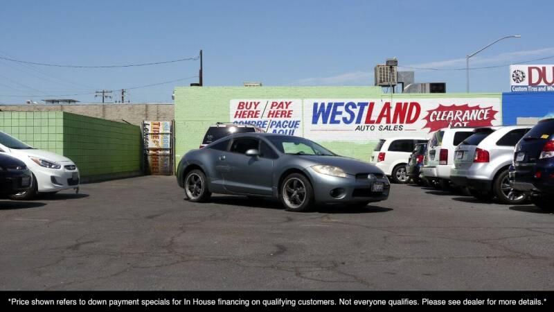 2007 Mitsubishi Eclipse for sale at Westland Auto Sales on 7th in Fresno CA