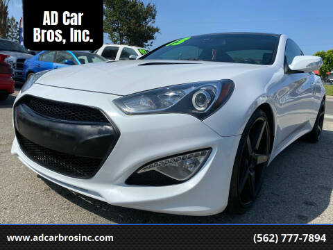2013 Hyundai Genesis Coupe for sale at AD Car Bros, Inc. in Whittier CA
