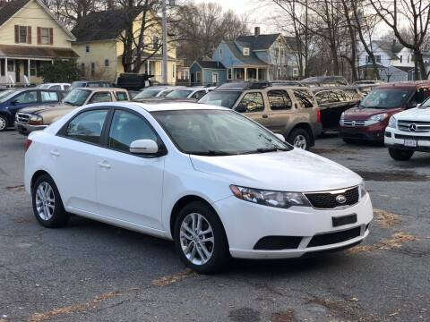 2012 Kia Forte for sale at Emory Street Auto Sales and Service in Attleboro MA