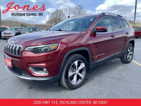 2019 Jeep Cherokee for sale at Jones Chevrolet Buick Cadillac in Richland Center WI