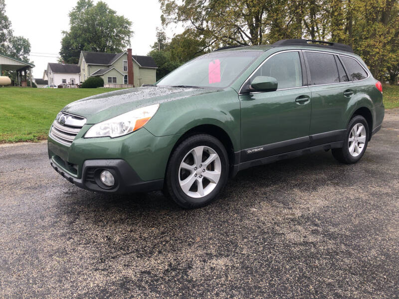 2013 Subaru Outback for sale at Purpose Driven Motors in Sidney OH