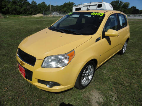 2009 Chevrolet Aveo for sale at John's Auto Sales in Council Bluffs IA