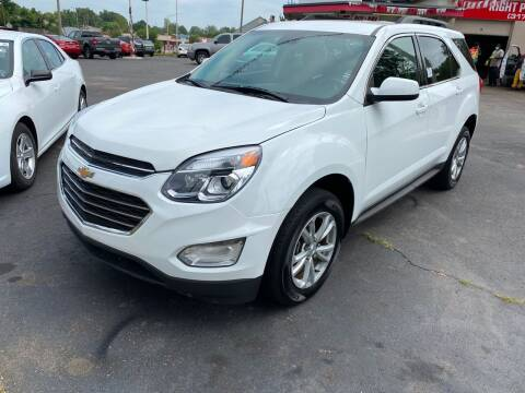 2016 Chevrolet Equinox for sale at Right Place Auto Sales in Indianapolis IN
