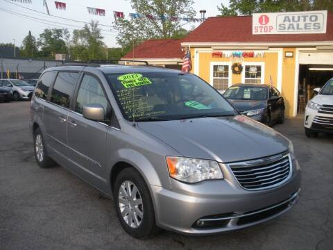2013 Chrysler Town and Country for sale at One Stop Auto Sales in North Attleboro MA