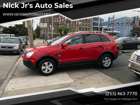 2009 Saturn Vue for sale at Nick Jr's Auto Sales in Philadelphia PA