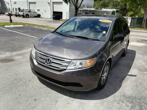 2013 Honda Odyssey for sale at Best Price Car Dealer in Hallandale Beach FL