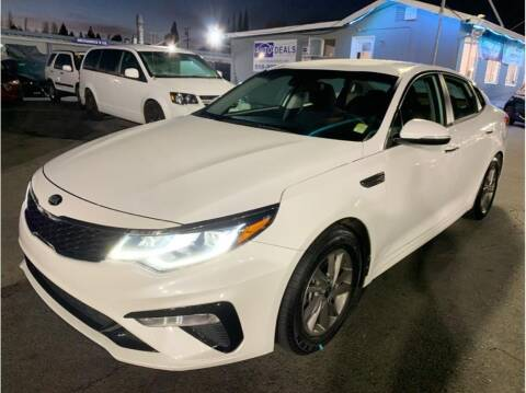 2020 Kia Optima for sale at AutoDeals in Hayward CA