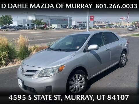 2012 Toyota Corolla for sale at D DAHLE MAZDA OF MURRAY in Salt Lake City UT