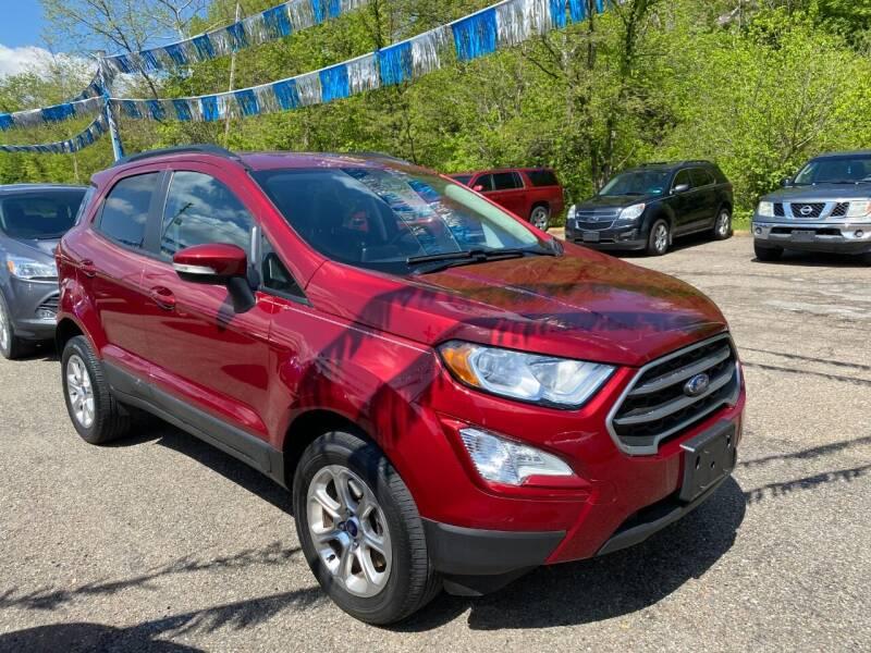2018 Ford EcoSport for sale at Matt Jones Preowned Auto in Wheeling WV