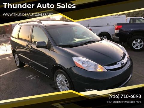 2008 Toyota Sienna for sale at Thunder Auto Sales in Sacramento CA