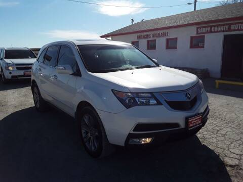 2012 Acura MDX for sale at Sarpy County Motors in Springfield NE