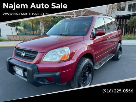 2003 Honda Pilot for sale at Najem Auto Sale in Sacramento CA
