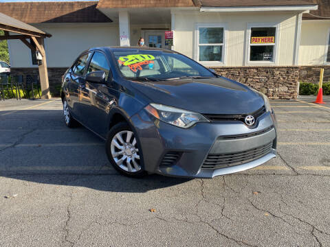 2014 Toyota Corolla for sale at Hola Auto Sales Doraville in Doraville GA
