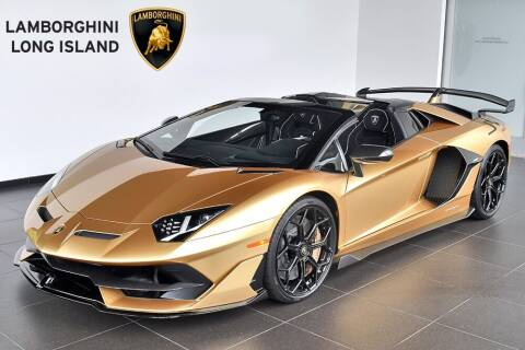 2020 Lamborghini Aventador for sale at Bespoke Motor Group in Jericho NY
