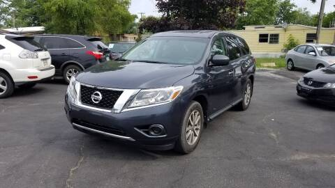 2014 Nissan Pathfinder for sale at Nonstop Motors in Indianapolis IN