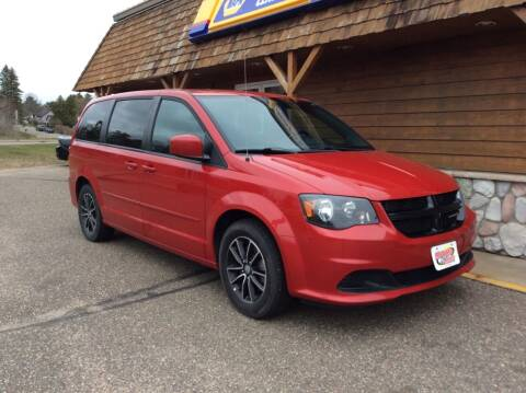 2016 Dodge Grand Caravan for sale at MOTORS N MORE in Brainerd MN