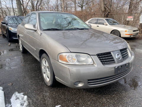 2005 Nissan Sentra for sale at JerseyMotorsInc.com in Teterboro NJ