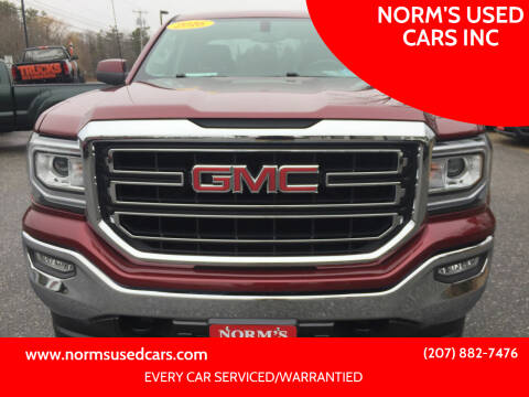 2016 GMC Sierra 1500 for sale at NORM'S USED CARS INC in Wiscasset ME